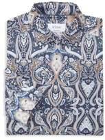 Geometric Print Dress Shirt
