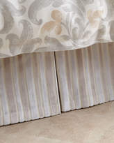 Jane Wilner Designs Le Monte Stripe Queen Dust Skirt