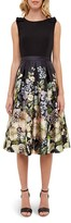 Ted Baker Gem Gardens Bow-Detail Dress