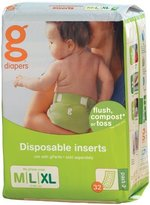 gDiapers Disposable Inserts - Medium/Large (32 count) by