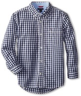 Tommy Hilfiger Baxter L/S Woven Shirt Boy's Long Sleeve Button Up
