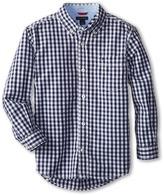 Tommy Hilfiger Baxter L/S Woven Shirt (Toddler/Little Kids)
