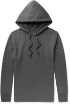 Polo Ralph Lauren Mélange Brushed Cotton-Blend Jersey Hoodie