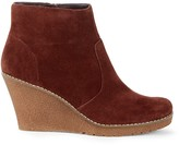 Sole Society Gwen Crepe Wedge Bootie