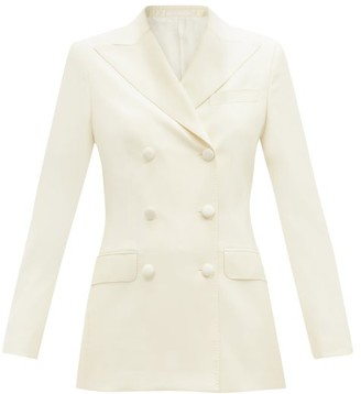 Officine Generale Maelys Double-breasted Wool Jacket - Cream