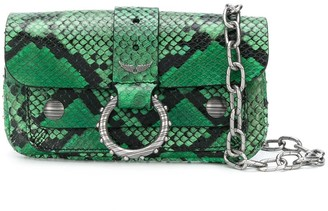 Zadig & Voltaire x Kate Moss Fashion Show Wild wallet bag
