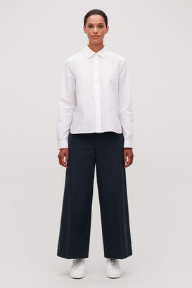 Cos STRUCTURED WIDE-LEG TROUSERS