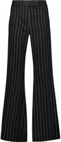 Rachel Zoe Emmeline pinstriped wool-blend wide-leg pants