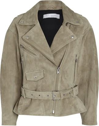 IRO Tigao Suede Moto Jacket