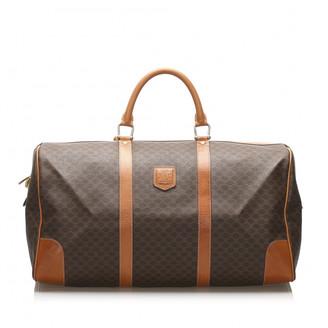 Celine Brown Cloth Travel bags