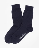 Brooks Brothers Cotton Mini Dot Socks