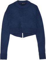Tibi Cropped cashmere sweater