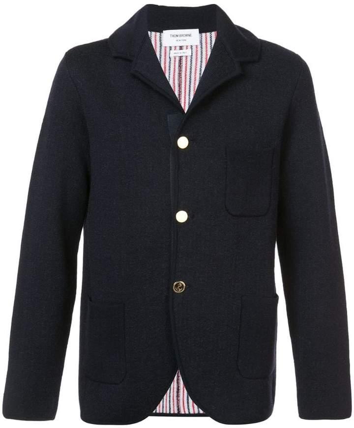 Thom Browne Double-Knit Wool Sport Coat