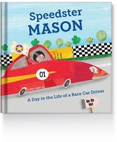 Infant 'Speedster' Personalized Book