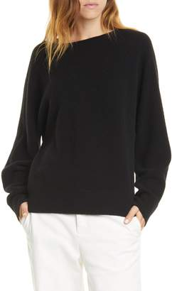 Vince Boat Neck Dolman Sleeve Cashmere Sweater