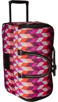 """Vera Bradley Luggage 22"""" Rolling Duffel"""