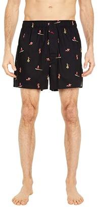 Tommy Bahama Woven Boxers (Surfing Santa) Men's Underwear