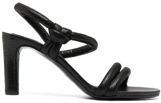 Del Carlo Knot-Detail Sandals