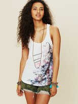 Free People Lady Luck Wolf Tank