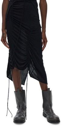 Helmut Lang Scala Drawstring Skirt
