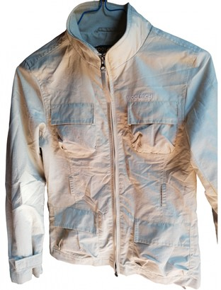 Woolrich Ecru Synthetic Jackets & Coats