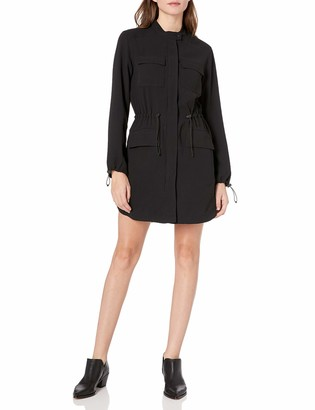 Kenneth Cole Women's Utility Shirt Dress
