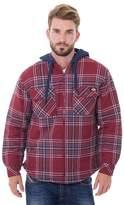Dickies Big & Tall Plaid Flannel Jacket