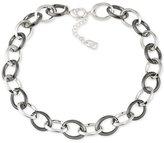 Lauren Ralph Lauren Two-Tone Open Link Statement Necklace