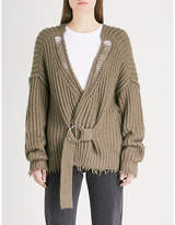 Wildfox Couture Citadel cotton cardigan