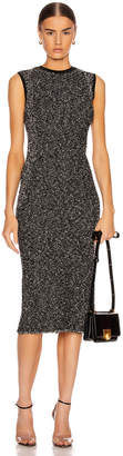 Victoria Beckham Fitted Sleeveless Dress in Black & White | FWRD