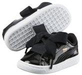 Puma Basket Heart Patent Infant Kids' Sneakers