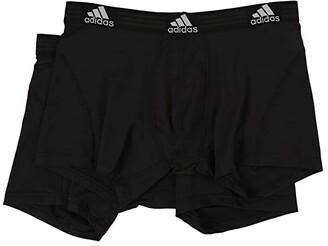 adidas Sport Performance ClimaLite 2-Pack Trunk (Night Indigo/Light Onix/Light Onix/Night Indigo) Men's Underwear