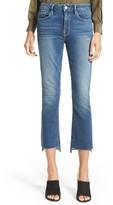 Frame Women's Le Crop Mini Boot Stagger Hem Jeans
