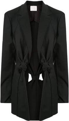 Dion Lee Knot Detail Blazer