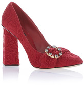 Dolce & Gabbana Jacquard Pumps
