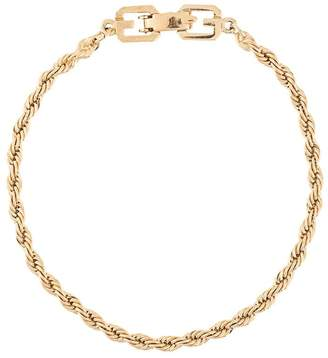 Givenchy Pre-Owned rope chain bracelet