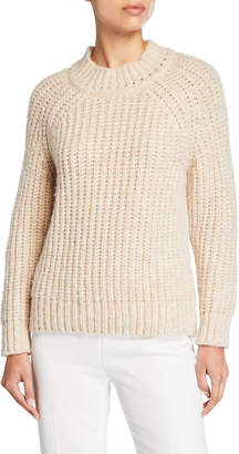 Forte Forte Baby Alpaca English-Knit Sweater