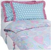 My Baby Sam Pixie Full Bedding Set - Aqua/ Pink