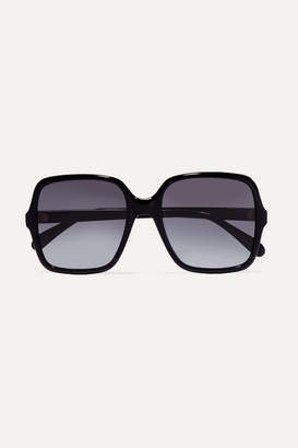 Givenchy Oversized Square-frame Acetate Sunglasses - Black