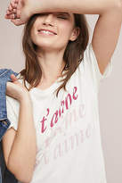 Junk Food Clothing Je T'Aime Graphic Tee