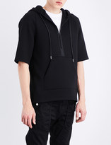Helmut Lang Short-sleeved neoprene hoody