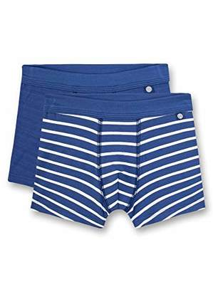 Sanetta Boy's Shorts Doppelpack,(Pack of 2)