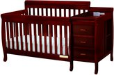 Afg Baby AFG Athena Kimberly 3 in 1 Convertible Crib and Changer Combo with Toddler Rail - 516C