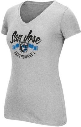 Mls MLS San Jose Earthquakes Womens Arch Scarf Short Sleeve Tee