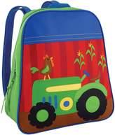 Stephen Joseph Farm Blue Go Go Backpack