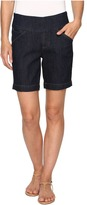 Jag Jeans Ainsley Pull-On 8 Shorts Comfort Denim in Dark Shadow Women's Shorts