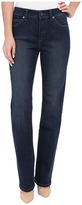 Miraclebody Jeans Six-Pocket Abby Straight Leg Jeans in Seattle Blue