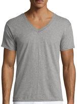 Hanes Men's ComfortBlend FreshIQ V-Neck Undershirt 4-Pack