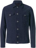 Eleventy classic collar jacket - men - Cotton - 52