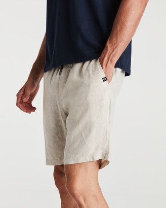 Coast Clothing - Men's Neutrals Shorts - Linen Shorts - Size One Size, S at The Iconic